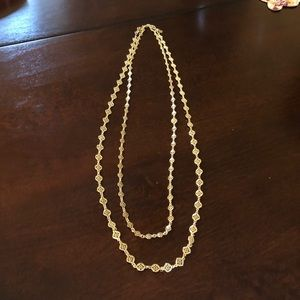 Stella & Dot Devon Gold Necklace, NWOT